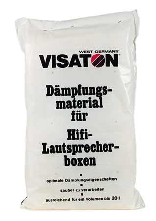 Dämmwatte Dämpfungsmaterial 2 Matten für Volumen bis 20Liter