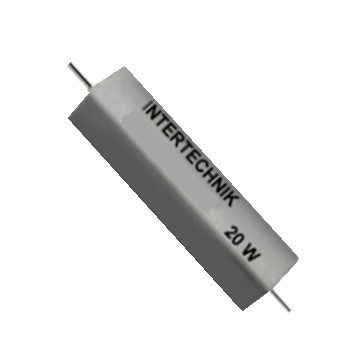 4,7Ohm 4R7 Widerstand 20W axial