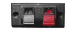 Lautsprecher Anschlussklemme 2pol OEM