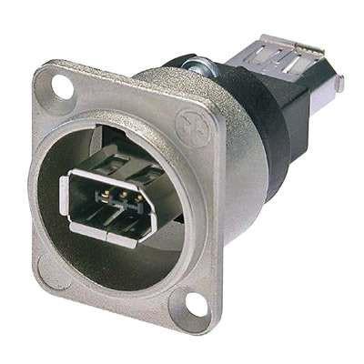 FireWire Dose IEEE1394 D-Type Einsatz