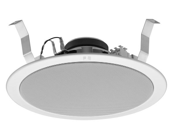 Deckenlautsprecher Weiss 230mm 15W 8ohm PC2369 mit 100V ELA 6W Trafo
