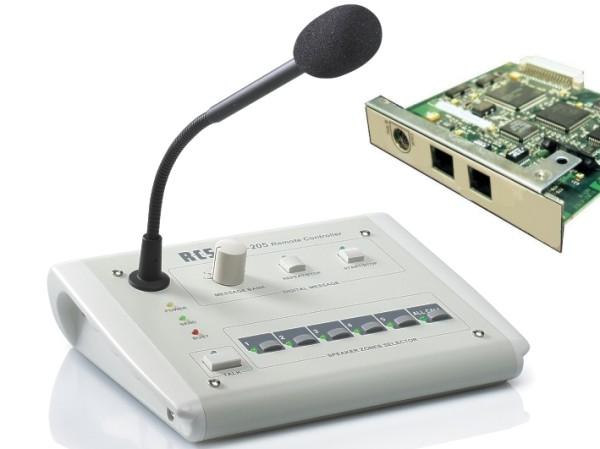 VLM205 Mikrofon Sprechstelle VLM205 mit Textabruf Verst-Platine