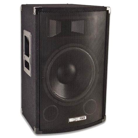 Lautsprecherbox 500W 8Ohm HQ-POWSG12 Schwarz