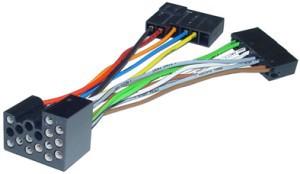 Autoradio Adapter Kabel BMW auf DIN mit 4xLS