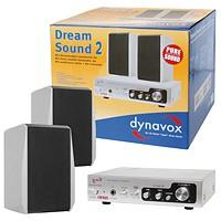 Verstärker Lautsprecher Set Multimedia DR-Sound Set2 Silber