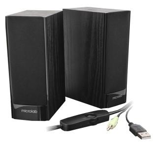 Aktiv Lautsprecher Boxen B56 USB Klinke Stereo
