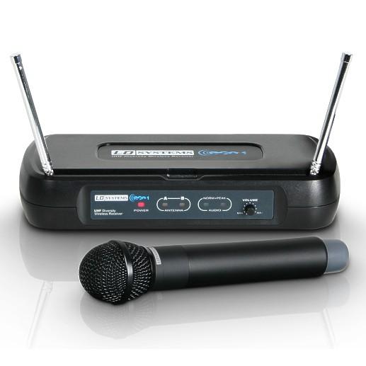 Funkmikrofon Set LD ECO-2 mit Funkempfänger und Mikro
