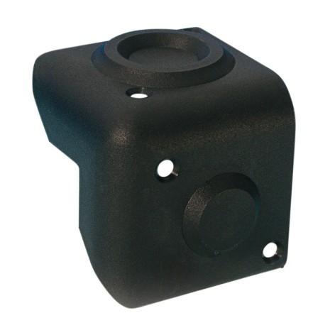 Schutzecke Kunststoff Schwarz Stapelbar 55x55x53mm