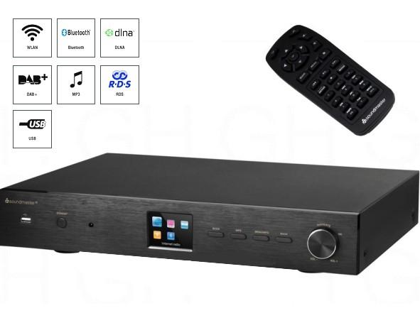 UKW Tuner Radio DAB Webradio WLAN LAN mit USB MP3 Player Bluetooth