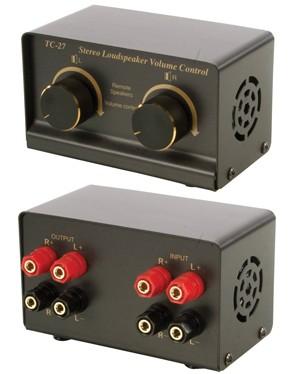 Lautsprecher Regelpult max 400 Watt 2x200 Watt Metallgehäuse