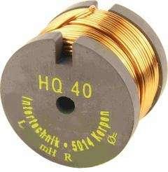 Spule 2,2mH 0,95mm Draht 0,29R 40x30mm Rollenkern