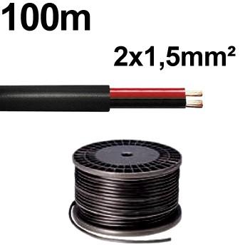 2x1,5qmm Rundkabel