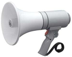Megafon ER1215 23W Weiss Grau