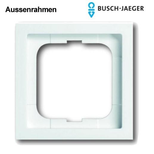 Aussenrahmen 1-fach Studioweiss 1721-184K Busch-Jäger