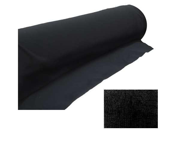Akustikstoff Bespannstoff 150cm breit Schwarz Meterware schalldurchlässiger Stoff