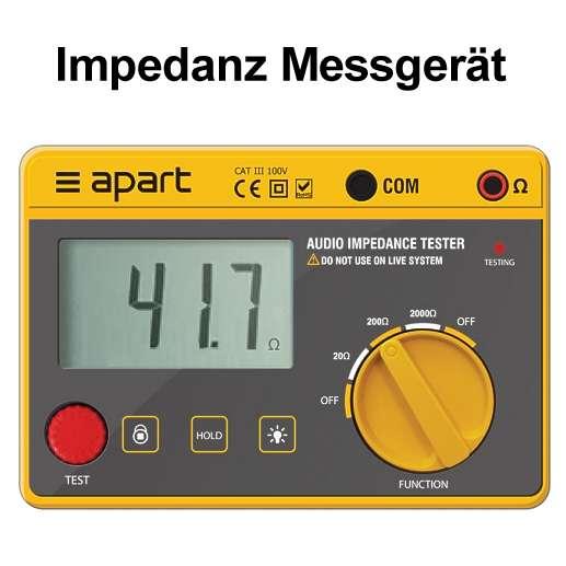 Impedanz Messgerät IMPNET