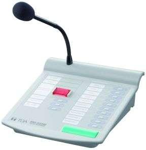 Tischmikrofon RM-200M fuer ELA-Zentrale VM-2000 Serie