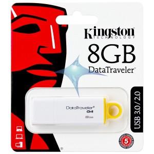 USB Speicher 8GB Kingston G4 Data Traveler USB3