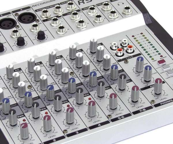 RS802 Mischpult 8Kanal Studio- und Live-Mischpult