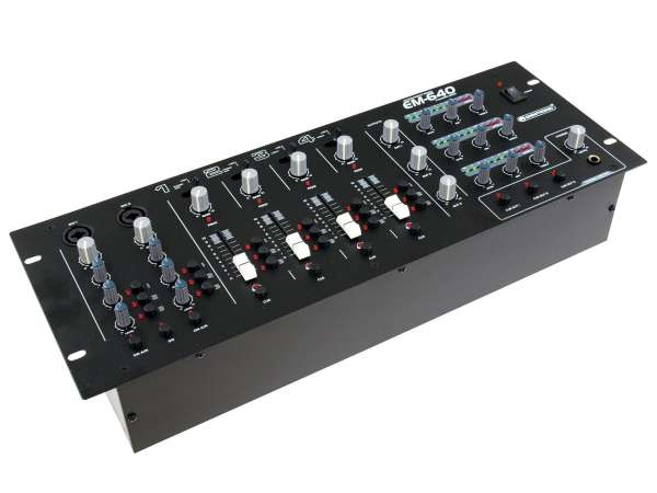 19zoll Mischpult EM-640B Entertainment Mixer