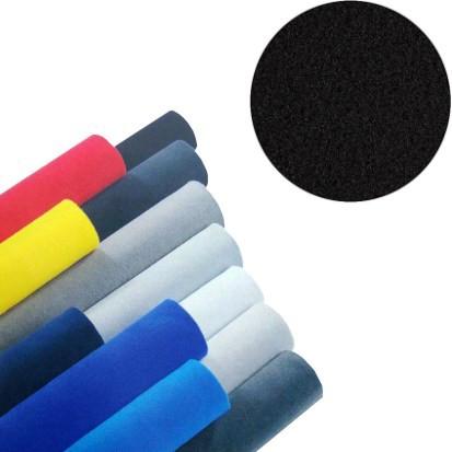 Velour Bezugsstoff 140x360cm 5qm --Schwarz--