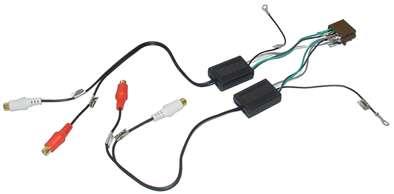 Audiowandler NF-Wandler Lautsprechersignal auf Cinchsignal