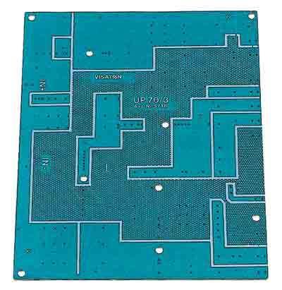 Platine für Frequenzweichen UP70/3 Leerplatine für Weichen