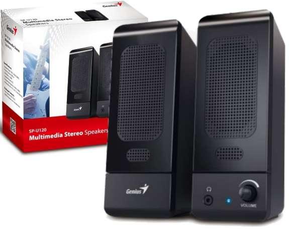 PC Lautsprecher SP120 Aktiv Lautsprecher 120Watt USB Klinke