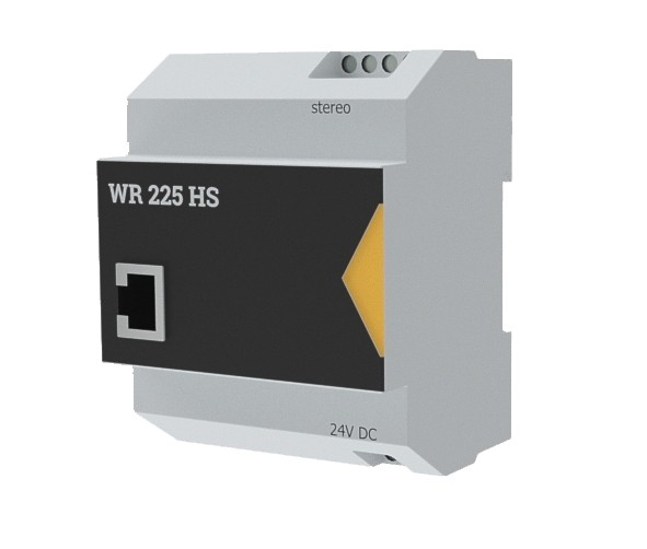 WHD WR225HS IP Audio 2x25W Verstärker mit APP Hutschiene