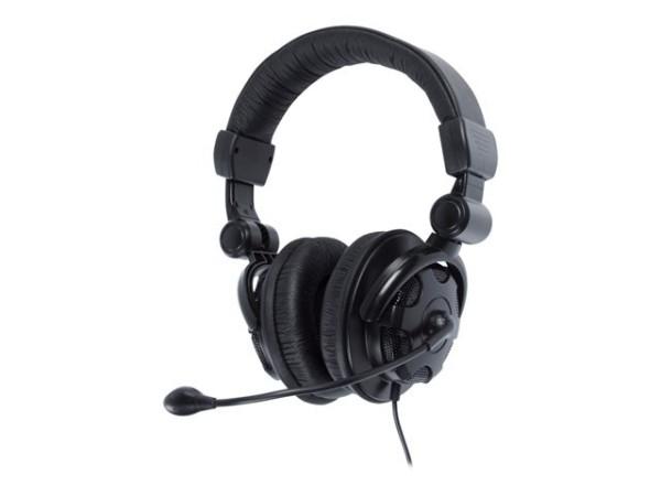 Headset Stereo Kopfhörer mit Bügel-Mikrofon
